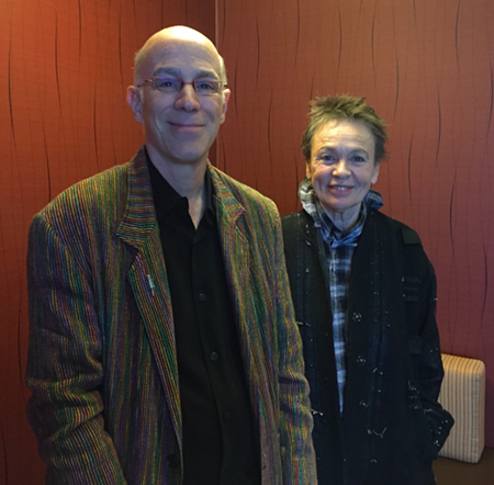 DTM & Laurie Anderson